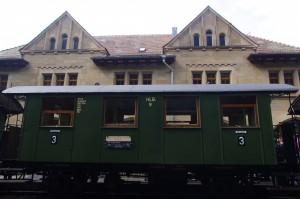 Historischer Personenwaggon der Königlich Württembergischen Staatseisenbahn